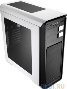 Корпус Aerocool Aero-800 White + CR , ATX, без БП, окно, картридер, 2 x USB 3.0, 2 x USB 2.0, 2 x 120 мм вент-ра.