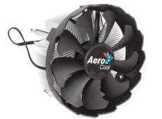 Кулер для процессора Aerocool BAS , до 100W, алюминий, 1200 RPM, Intel LGA 1150/1151/1155/1156, 25,4 dBA