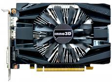 Видеокарта Inno3D GeForce GTX 1060 Compact N1060-6DDN-L5GM 3Gb 1506Mhz NVIDIA GeForce GTX1060/GDDR5/8000/192 bit/PCI-E/ DVI DP HDMI