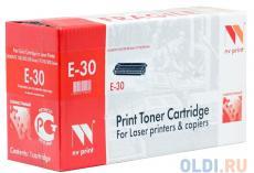 Картридж NV-Print совместимый Canon E-30 для FC-2xx/3xx/530/108/208; PC-7xx ; PC-8xx. Чёрный. 4000 страниц.