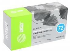 Картридж Cactus CS-C9370 №72 для HP DesignJet T610/T620/T770/T1100/T1100MFP/T1120/T1200 фото-черный