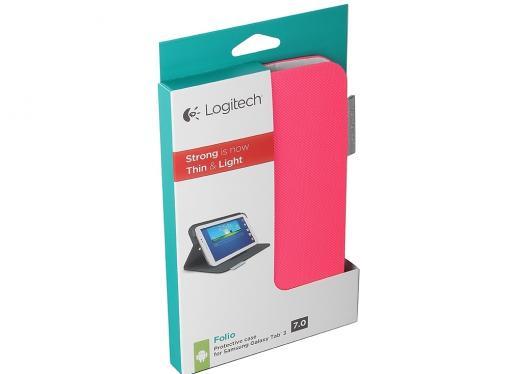 (939-000758) Чехол Logitech Folio for Samsung Galaxy Tab3 7'' Fantasy Pink