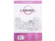 Обложки Lamirel Transparent A4, PVC, прозрачные, 200мкм, 100шт