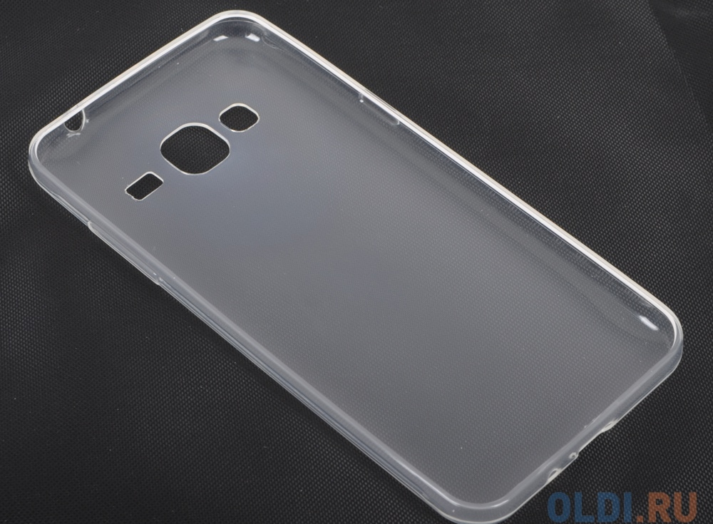 Силиконовый супертонкий чехол для Samsung Galaxy J3 DF sCase-10