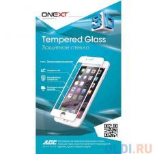 защитное стекло onext для телефона apple iphone 7 с рамкой черное