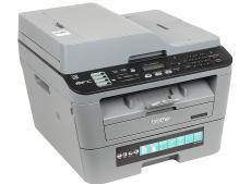 МФУ Brother MFC-L2700DWR лазерный, принтер/ сканер/ копир/ факс, A4, 26стр/мин, дуплекс, ADF, 32Мб, USB, LAN, WiFi
