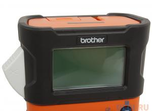 принтер для наклеек brother pt-e300vp