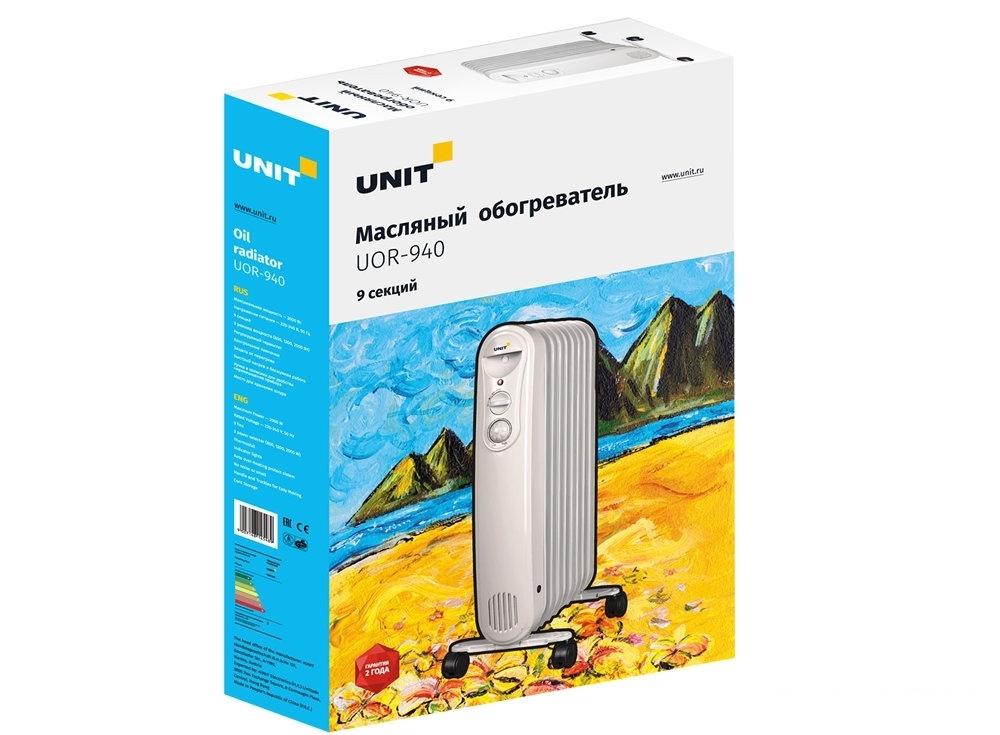 Масляный обогреватель UNIT UOR-940
