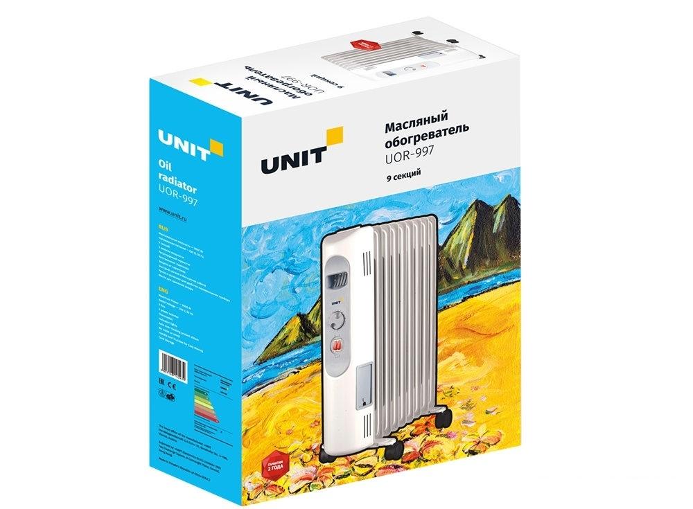 Масляный обогреватель UNIT UOR-997