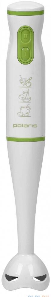 Блендер погружной Polaris PHB 0508 500Вт белый зелёный