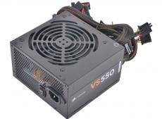 Блок питания Corsair 550W (VS550) v.2.31,A.PFC,Fan 12 cm,Retail