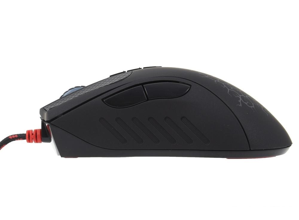 Мышь A4-Tech Bloody A9 Blazing черный Laser (4000dpi) USB игровая (8кнопок)