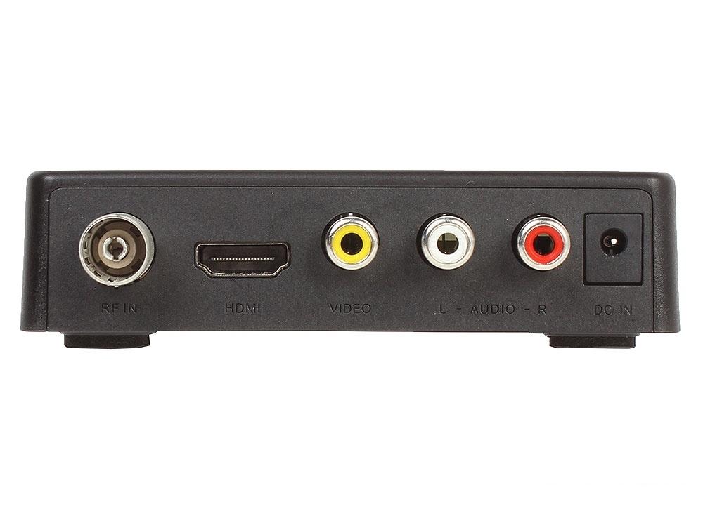 Цифровой телевизионный DVB-T2 ресивер BBK SMP021HDT2 черный