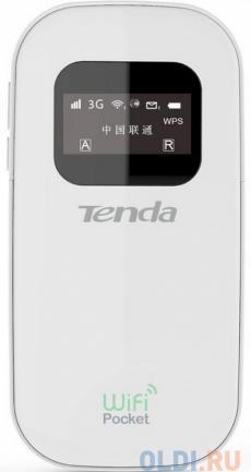 Точка доступа Tenda 3G185 3G портативныый Wi–Fi роутер со слотом для SIM-карт