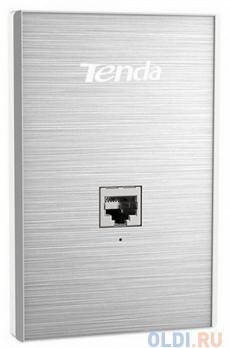 Точка доступа Tenda W6-US Точка доступа встраиваемая в стену 802.11bgn 300Mbps 2.4 ГГц 1xLAN серебристый