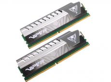 Память DDR4 8Gb 2x4GB (pc-17000) 2133MHz Patriot Viper4 Elite CL14 Grey PVE48G213C4KGY