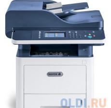 МФУ Xerox WorkCentre 3345V_DNI (A4, лазерный принтер/сканер/копир/факс, до 42 стр/мин, до 80K стр/мес, 1.5Gb/USB, Ethernet, WiFi, Duplex)